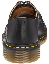 pictures of Dr. Martens Mens 192511021 1925 5400 Uniform Dress Shoe, Black Fine - 9.5