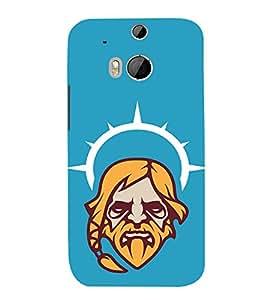 Fuson 3D Designer Back Case Cover For HTC One M8