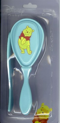 Disney Baby Brush and Comb Set Ass't Winnie the Pooh Characters