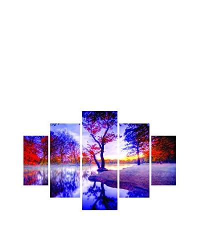 Miracle Wandbild 5 tlg. Set St150 mehrfarbig