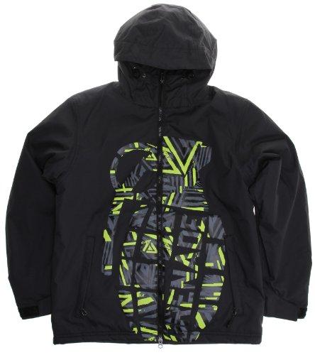 Grenade Exploiter Snowboard Jacket Doom Vision Youth Sz M