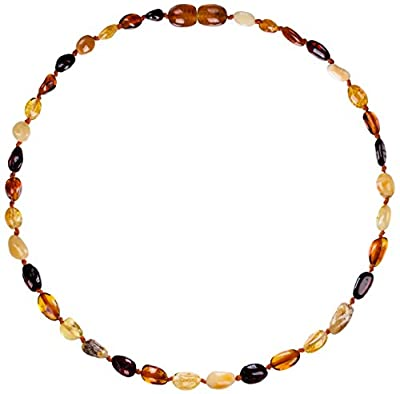 Amber Teething Necklace for Babies (Unisex)