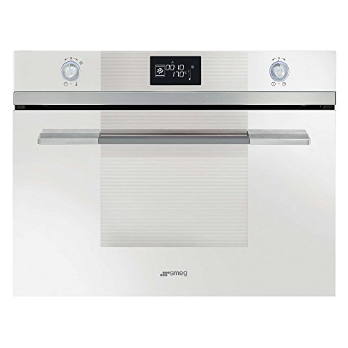 Smeg Linea SF4120VCB Built In Oven Compact Combination Steam White