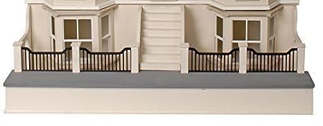 mj04a Maison de poupées 1:12 échelle MDF plat paquet non peinte sous-sol Kit pour MJ04