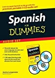 img - for Spanish For Dummies Audio Set by Langemeier, Jessica 1st (first) (2007) Audio CD book / textbook / text book