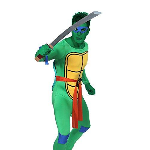 Leonardo Da Vinci Leo Teenage Mutant Ninja Turtles Kostuem Karneval Fasching Herrenkostuem