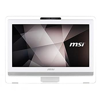 "MSI PRO 20ET-4BW-003EU Ordinateur de bureau Tout-en-Un Non tactile 19""(48,26 cm) Blanc (Intel Celeron, 4 Go de RAM, 500 Go, Intel HD Graphics, Windows 10)"