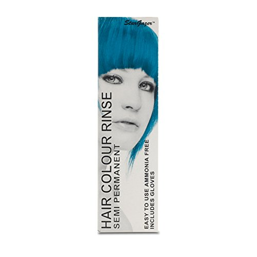 2 x Stargazer Semi Permanent Hair Colour Dye UV Turquoise Party Festival (Stargazer Hair Color compare prices)
