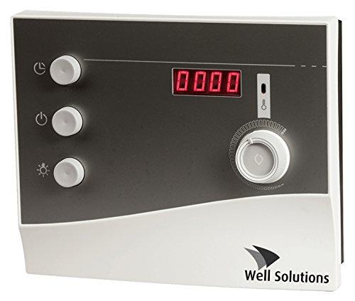 Saunasteuerung Well Solutions mit Zeitvorwahl