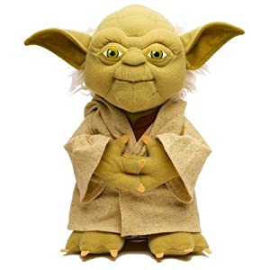 "Star Wars 9"" Talking Yoda plush in gift box"