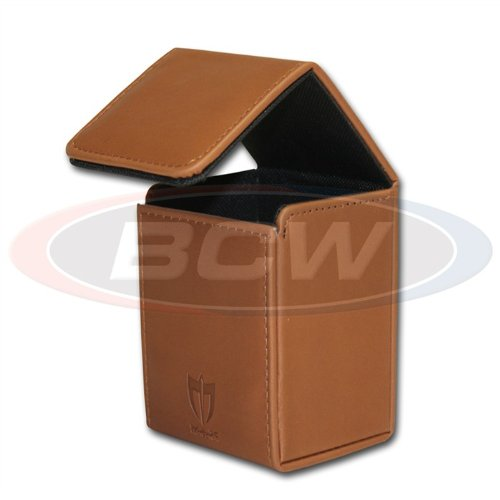 Italian Brown - ION Deck Armor Premium Magnetic Closure Deluxe Deck Box - 1