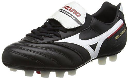 MizunoMorelia Classic Md - Scarpe da Calcio uomo , Nero (Black (Black/White/Red)), 40.5