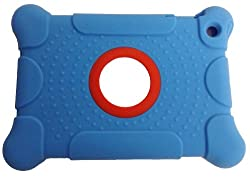 BLUE iPad Mini Protector Case, Tough Silicone Corners, Shockproof kids