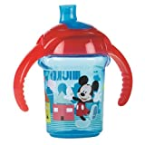 Disney Baby Click Lock 7oz Trainer Cup Mickey Mouse Blue/Red