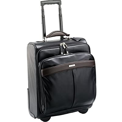 "Enzo Rossi ER23991 Nappa leather 15.4"" laptop / trolley case / cabin hand luggage from Enzo Rossi"