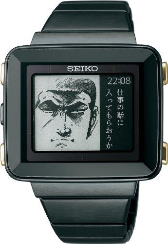 [セイコー]SEIKO 腕時計 SPIRIT SMART スピリット スマート ゴルゴ13 コラボレーションモデル ハードレックス 10気圧防水 ソーラー電波修正 【Amazon限定 数量限定白ブリーフ付き】 SBPA011 メンズ