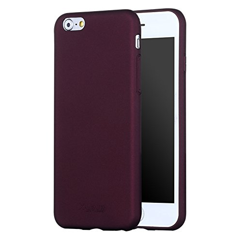 iPhone 6s Case,X-Level Guardlan Series Soft TPU Back Cover Phone Case for iPhone 6/ 6s 4.7'' Inch Color Wine Red (Wine Iphone 6 Case compare prices)