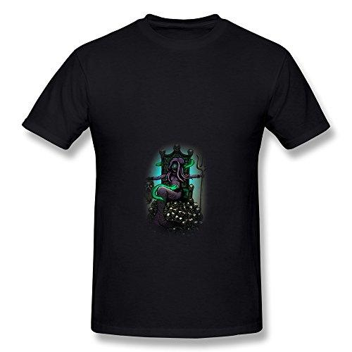 Hd-Print Men'S Tshirt Demise Poseidon M Black