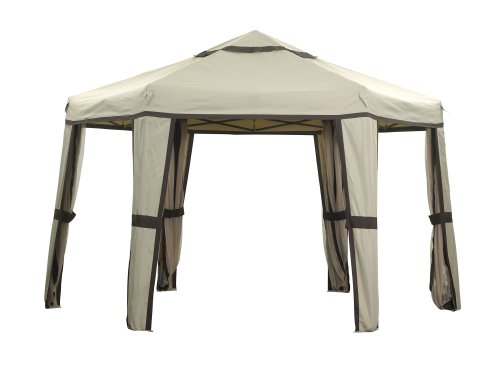 Camelot 1.8m Hexagonal Easy-Up Gazebo