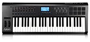 M-Audio Axiom 49 | 49-Key USB MIDI Keyboard Controller with Semi-Weighted Keys and Assignable Control Surface (2nd Generation)