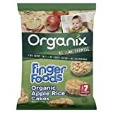 Organix Finger Foods Organic Apple Rice Cakes 50g