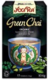 THREE PACKS of Yogi Tea Green Chai 15 Bag