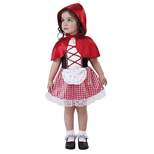 Lil Red Riding Hood Costume Infant Toddler 4-6 Years