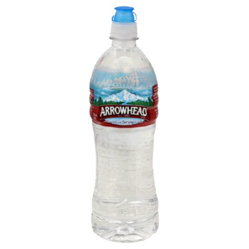 Arrowhead Bottled Water, 24-Ounce Sport Cap Bottles (Pack of 28)