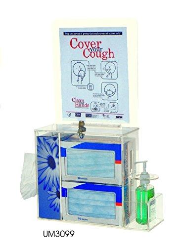 Locking Respiratory Hygiene Station