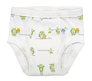 Under The Nile Apparel Under The Nile Egyptian Organic Cotton Owl Print Training Pants, 2-4 Years (26-36 lbs) from Under The Nile