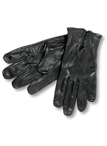 Interstate Batteries Interstate Leather Men's Unlined Biker Gloves (Black, Medium) at Sears.com