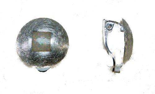 TF Grandes boucles d'oreille à pince avec opale argent Sterling 925