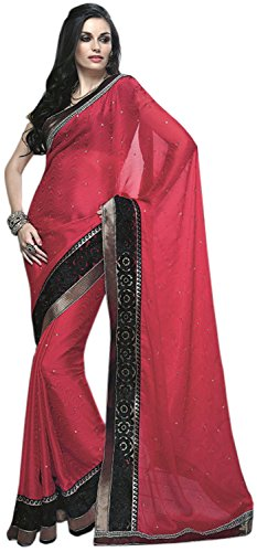G3 Fashions Jacquard Saree (multicolor)
