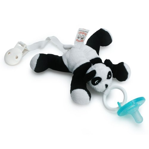 Paci-Buddy Panda - Plush Pacifier Holder & Clip