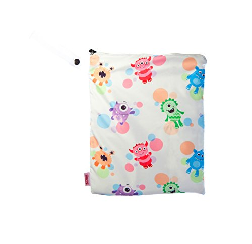 NUBY Washable Wet Bag, Imonsters