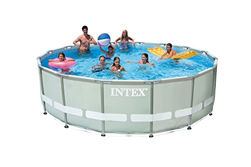 Intex 28322 Frame Pool Set Ultra Rondo, Durchmesser 488 x 122 cm
