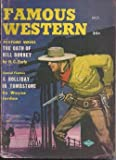 img - for FAMOUS WESTERN: October, Oct. 1957 book / textbook / text book