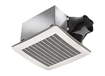 Delta Electronics VFB25AC Breez 80 CFM Exhaust Fan, Less Than 0.3 Sone