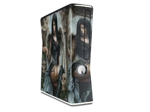 Always Decal Style Skin for XBOX 360 Slim Vertical (OEM Packaging) wood grain oak 01 holiday bundle decal style skin set fits xbox one console kinect and 2 controllers xbox system sold separately