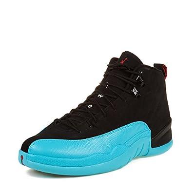 "Nike Mens Air Jordan 12 Retro ""Taxi"" Leather Basketball Shoes"