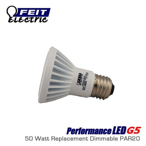 9.5 Watt 3000K Dimmable Par20 Led Lamp, 38 Degree