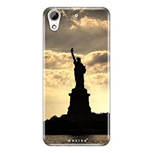 Mozine Statue Of Liberty printed mobile back cover for HTC desire 626
