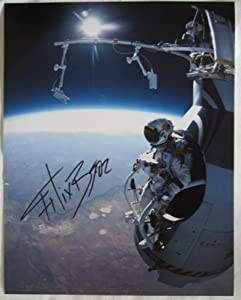 Felix Baumgartner signed 11x14 photo Red Bull Stratos - Autographed NBA Photos