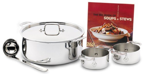 All Clad Stainless-simply Soup Set