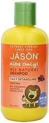 JASON Kids Only Daily Detangling Shampoo 8 Ounce