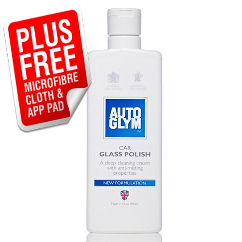 **NEW FORMULA** Autoglym Car Glass Cleaner / Polish Complete Kit **ANTI MIST**