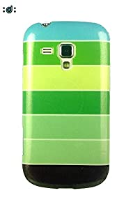 Dressmyphone Colorful Rainbow Soft TPU Jacket for Samsung Galaxy S Duos 2 S7582 and Samsung Galaxy S Duos S7562  Design 7    Multicolor available at Amazon for Rs.349