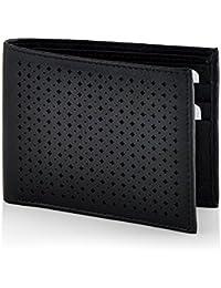 Butterflies Women's Wallet (Black) (BNS F050)