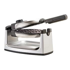 Sensio 13278 Bella Cucina Rotating Round Belgian Waffle Maker