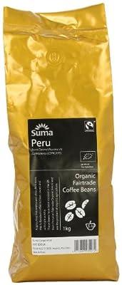 Suma Fairtrade Organic Peru Cepicafe Coffee Beans 1 kg by Suma